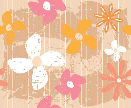 flower_wall_vector_graphic