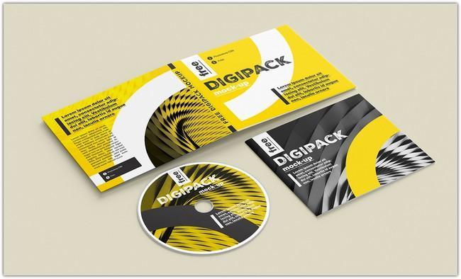 free_digipack_mockup