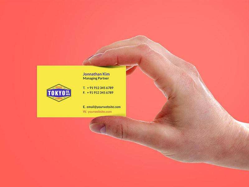 hand_holding_business_card_template