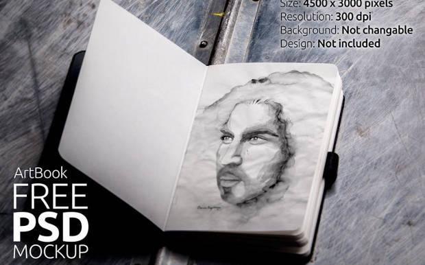 photo_realistic_sketchbook_mockup