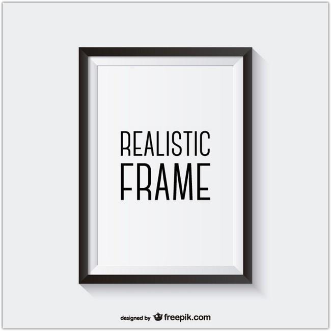 realistic_black_frame