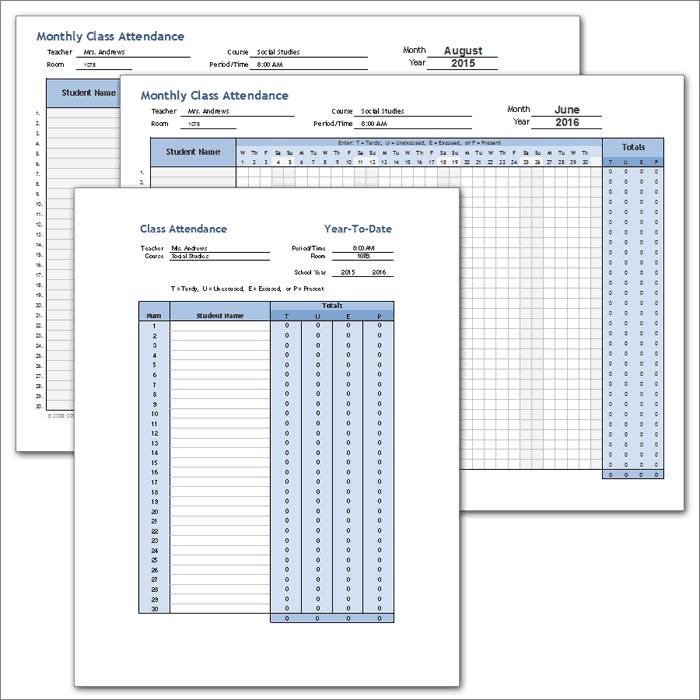 class_attendance_template