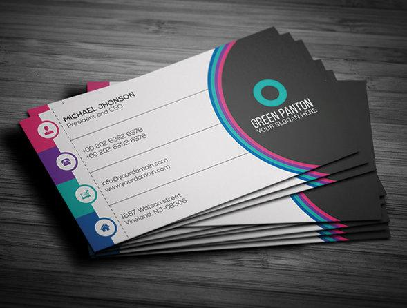 flat_corporate_business_card