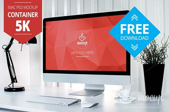 free_container_5k_imac_mockup_psd