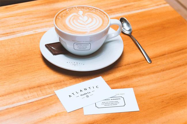free_business_cards_and_coffee_cup_psd_mockup