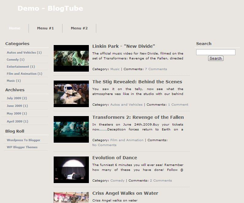 blogtube_video_blogger_template