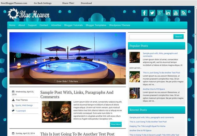 blueheaven_responsive_personal_blog_blogger_template