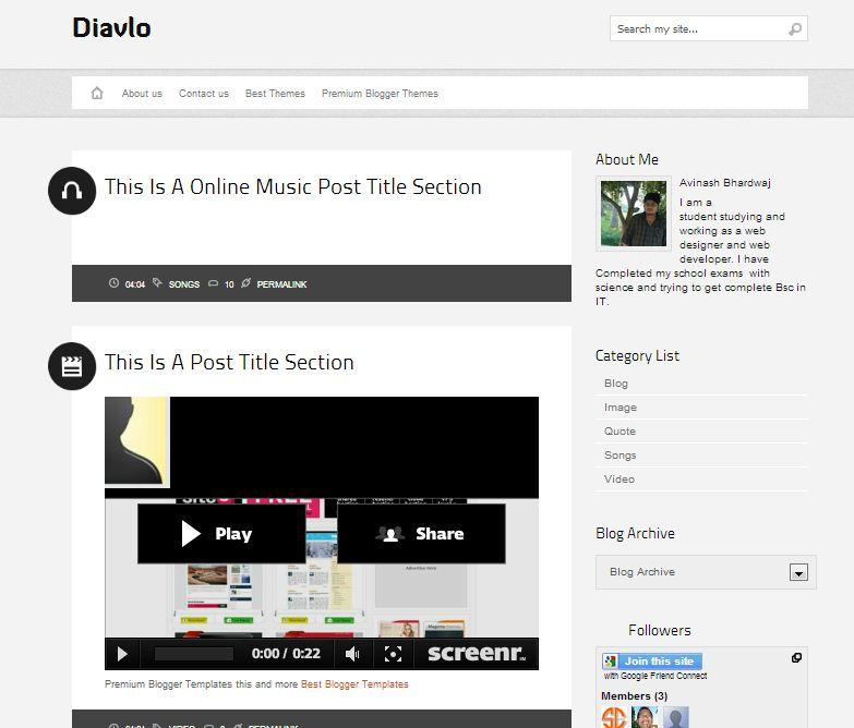 diavlo_video_blogger_template