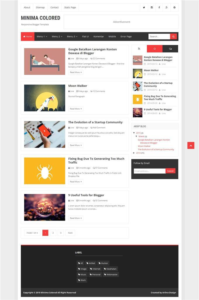 minima_colored_responsive_personal_blog_blogger_template
