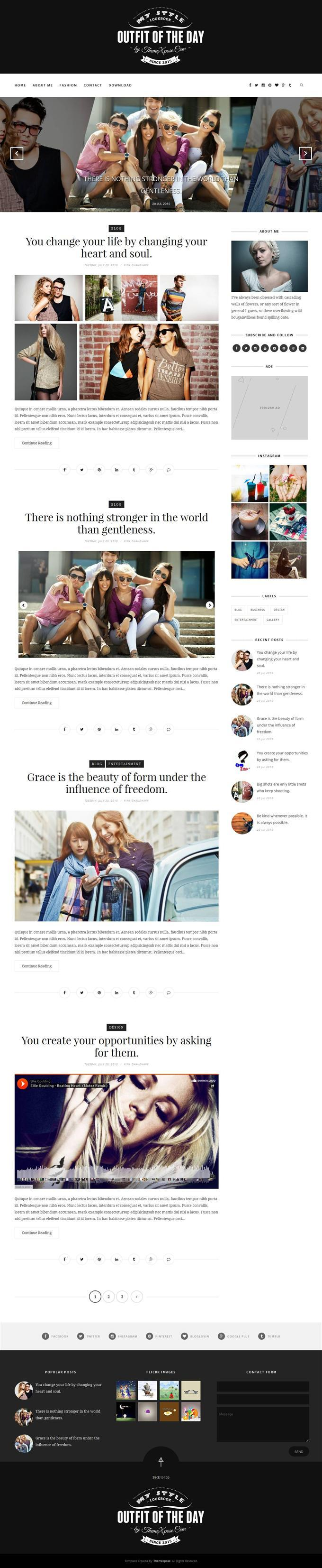outfit_clean_responsive_blogger_template
