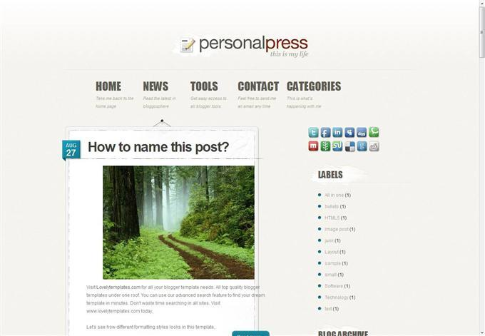 personal_press_blogger_template