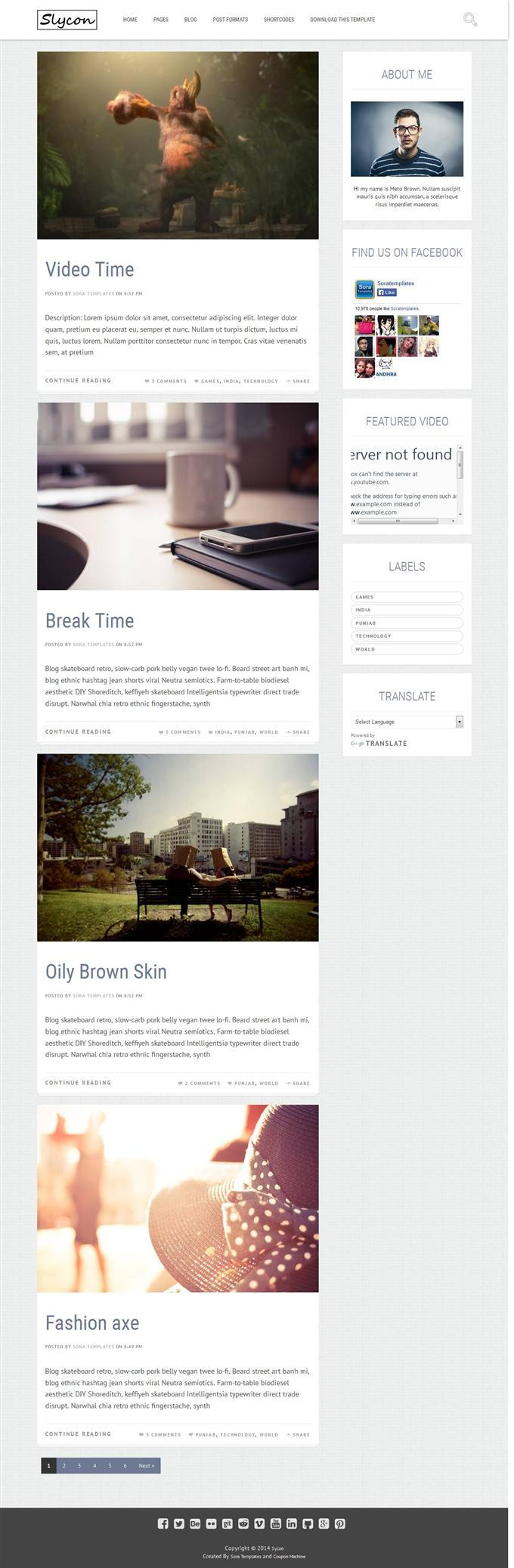 sycon_personal_blog_blogger_template