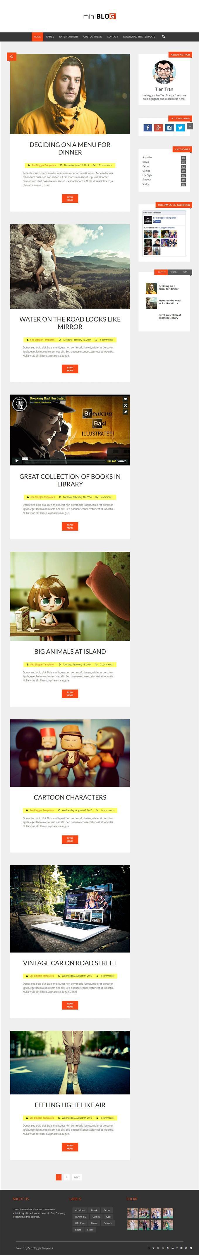 miniblog_responsive_blogger_template