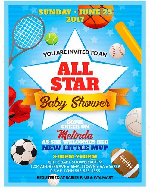 all_star_baby_shower_invitation_template