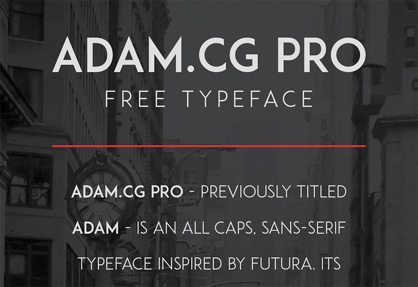 adam_free_typeface