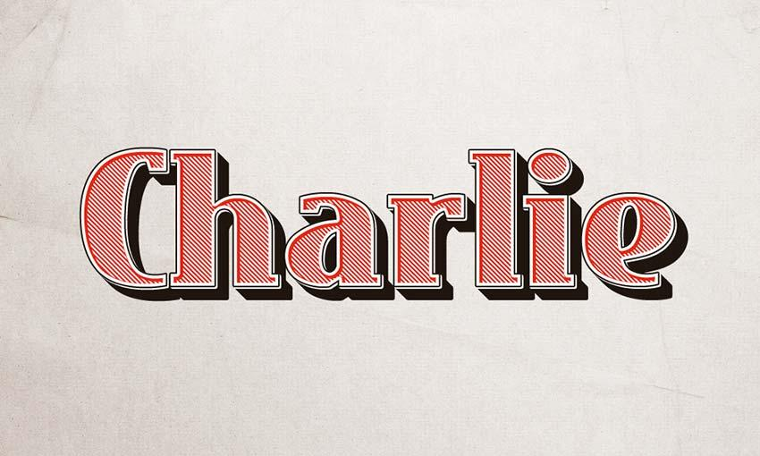 charlie_text_effect