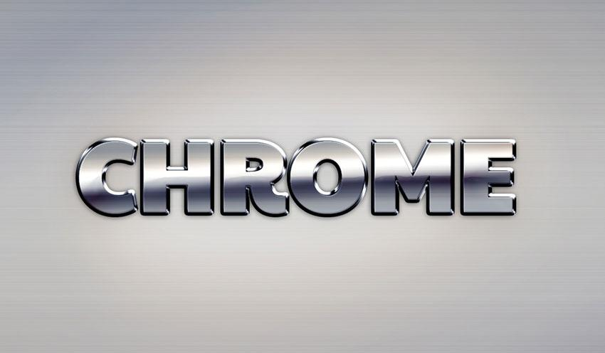 chrome_text_effect