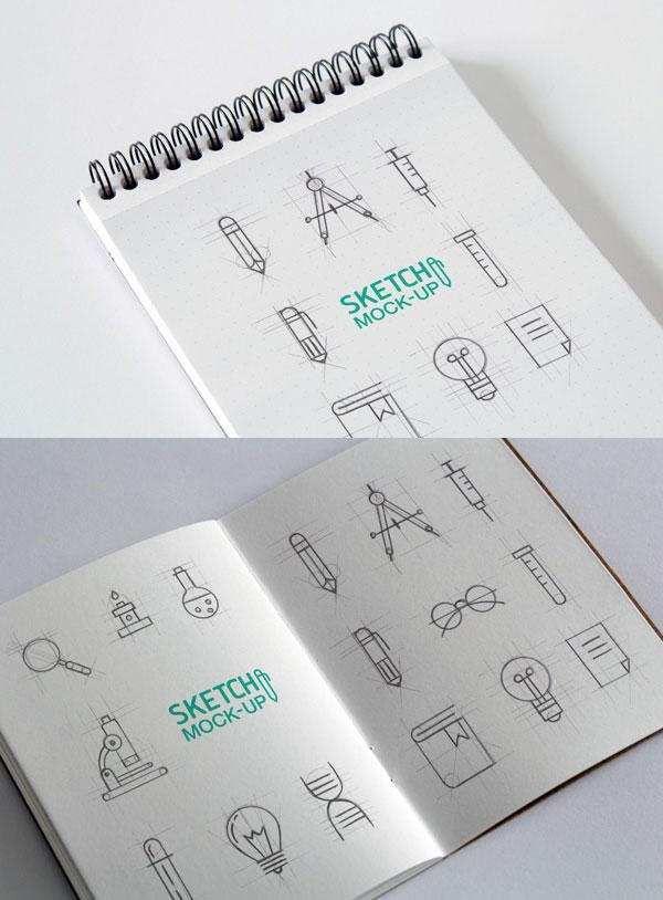 photorealistic_sketchbook_mockup