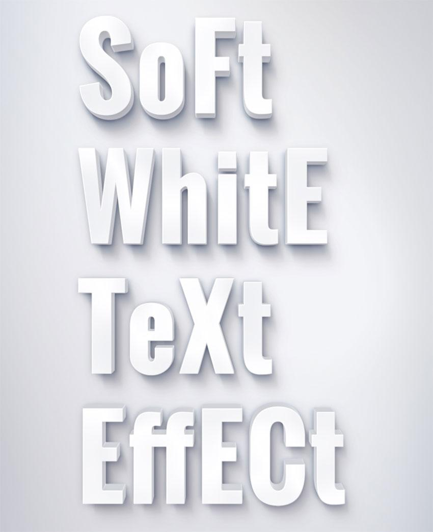 soft_white_text_effect