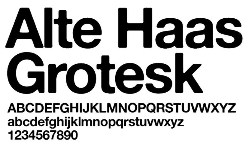 alte_haas_grotesk_free_font