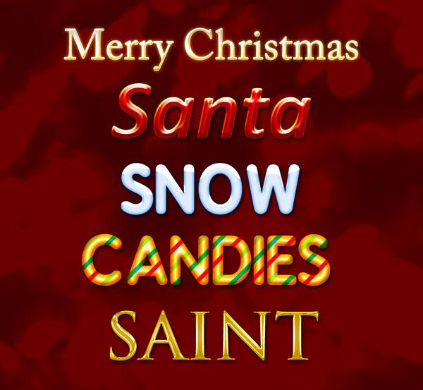 christmas_photoshop_text_styles