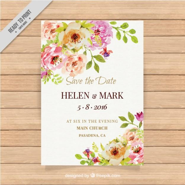 cute_wedding_invitation_with_watercolor_flowers