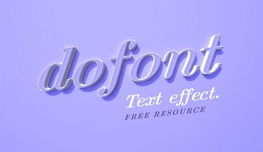 dofont_text_effect