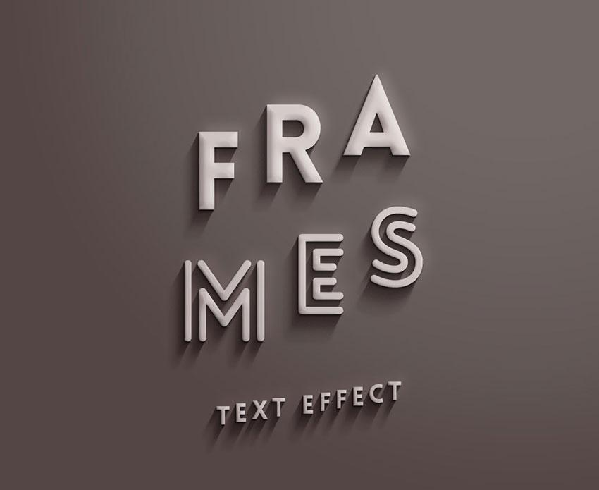 frames_text_effect