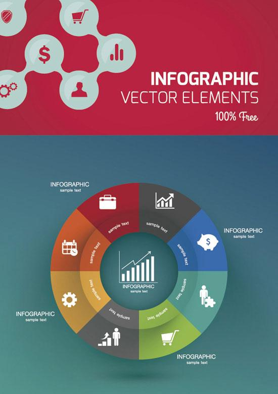 free_vector_infographic_design_template