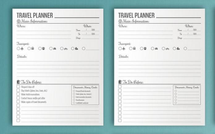 10+ Useful Itineraries Templates (Wedding, Traveling ...