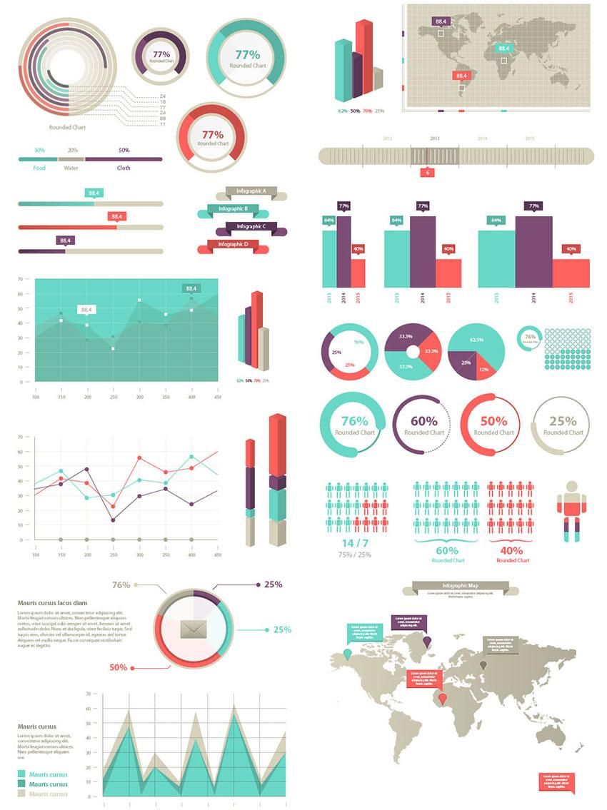 free_infographic_elements_vector