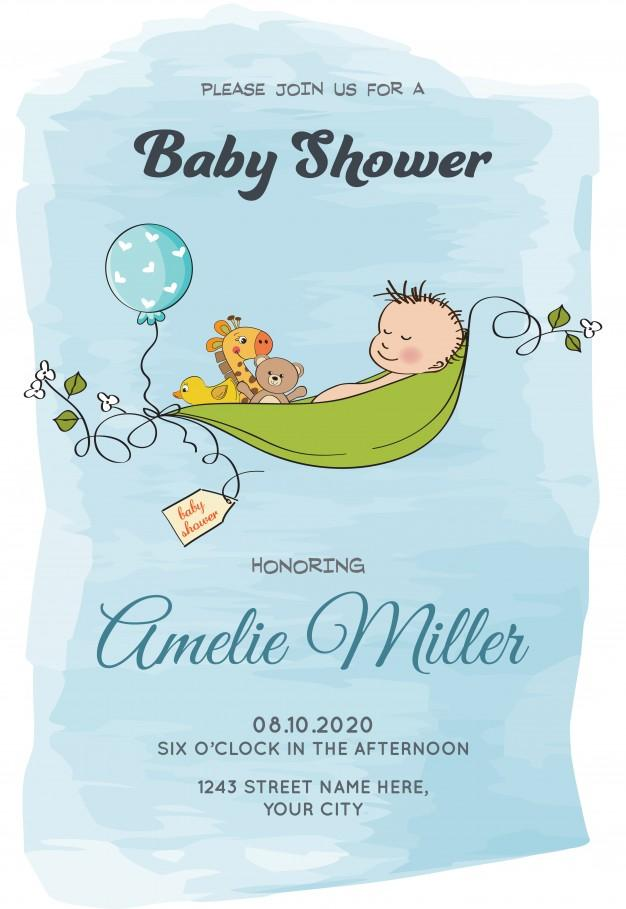 lovely_baby_boy_shower_card_template