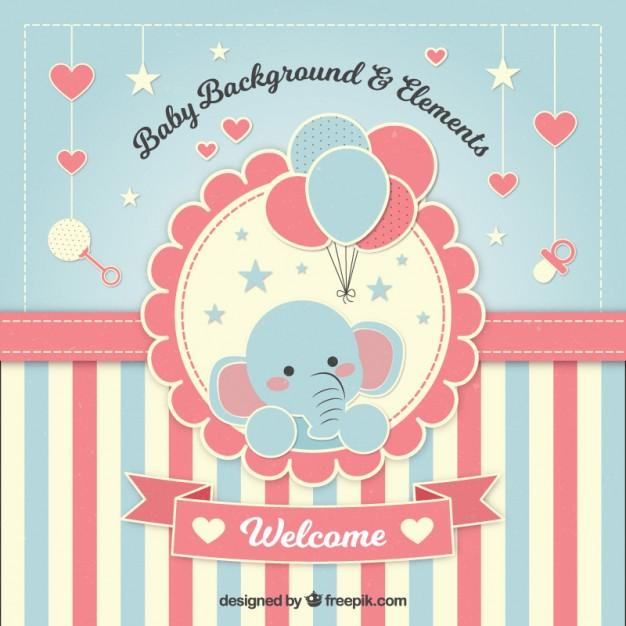 lovely_baby_shower_background_with_an_elephant
