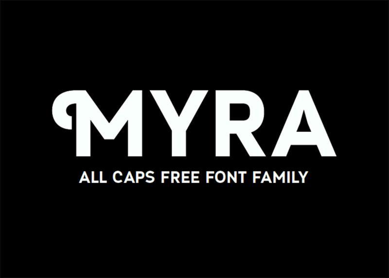 myra_free_font