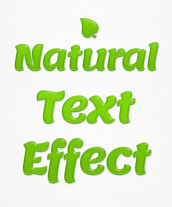natural_text_effect