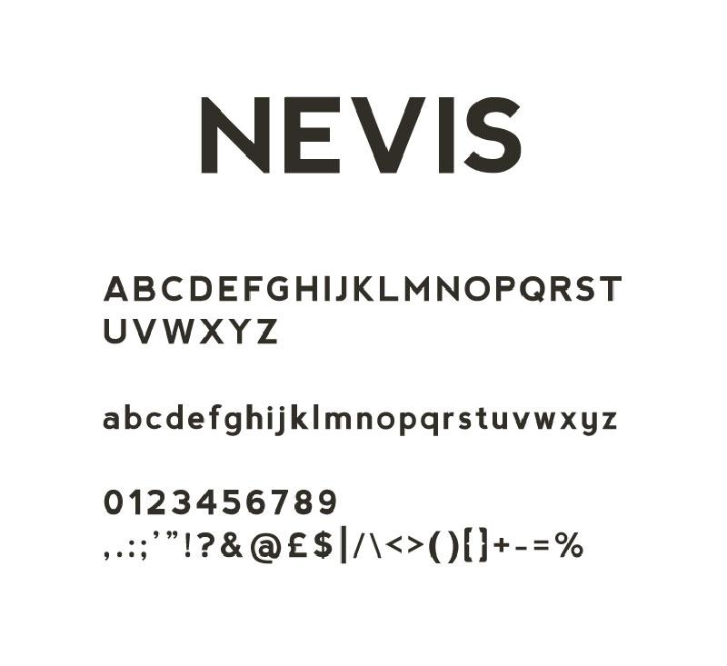 nevis_free_font