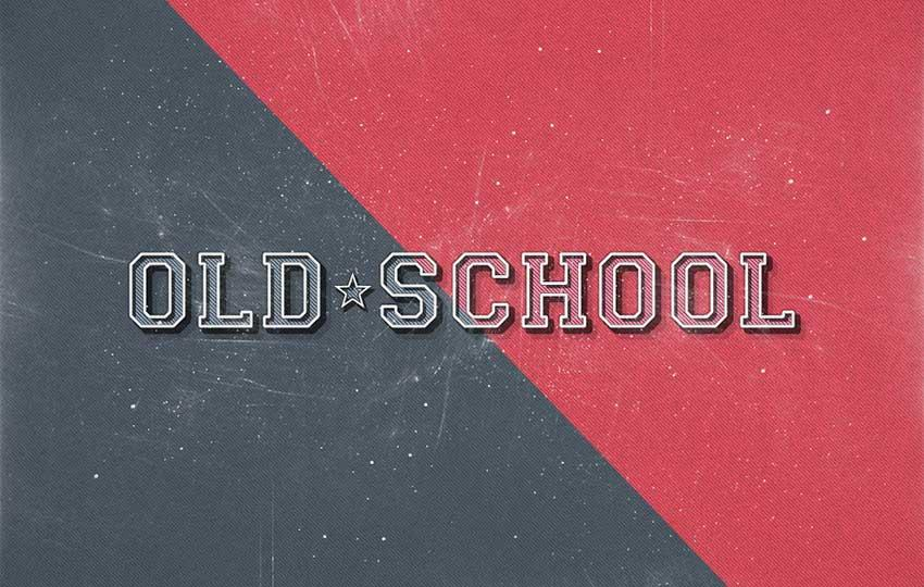 old_school_retro_text_effect