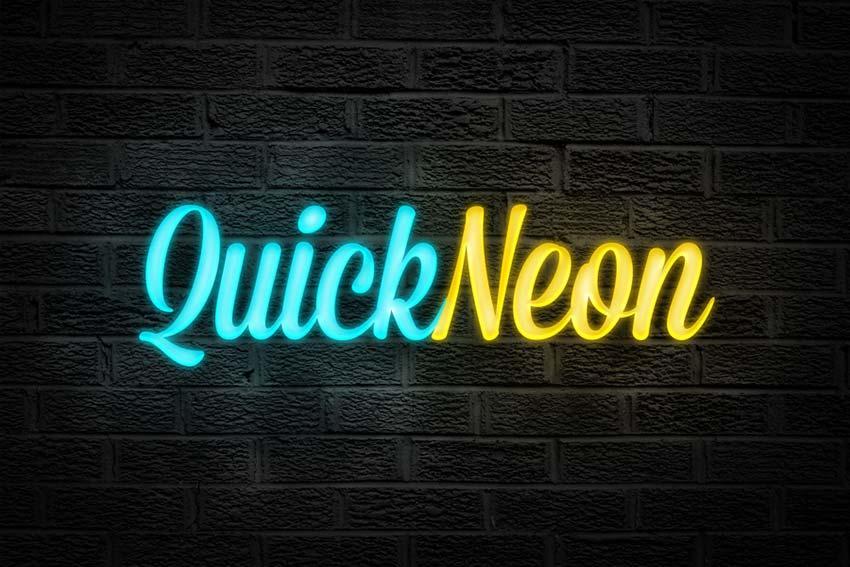 quick_neon_effect