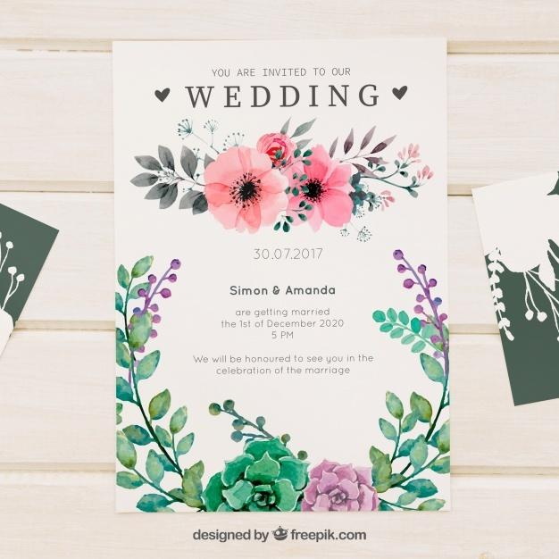 pretty_floral_watercolor_wedding_invitation