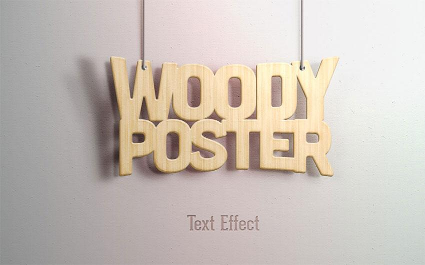 woody_text_effect
