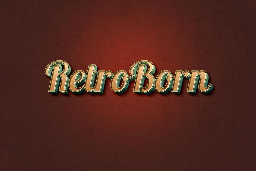 retro_text_effect