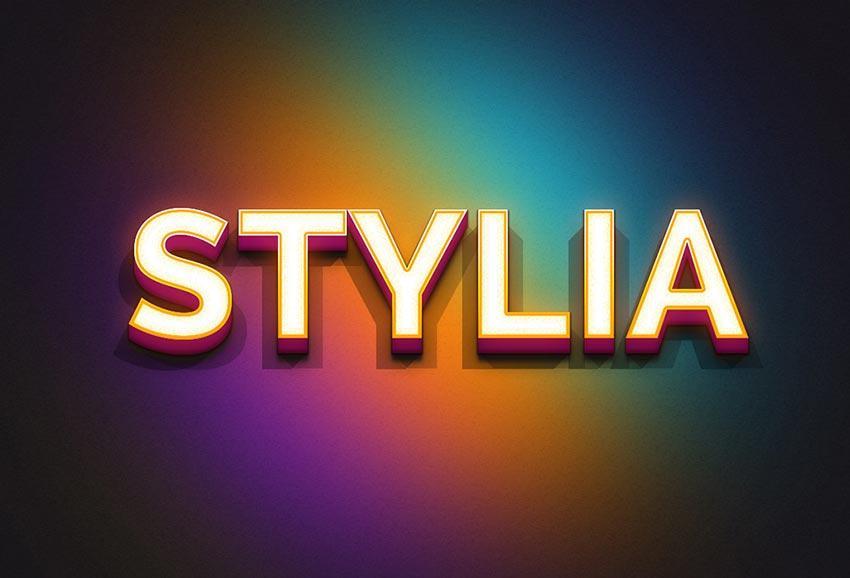 stylia_text_effect