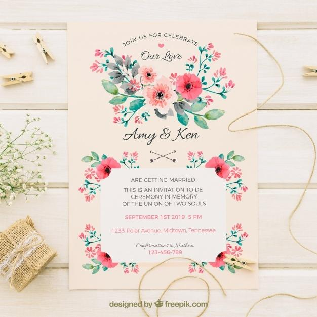 vintage_wedding_invitation_with_watercolor_flowers
