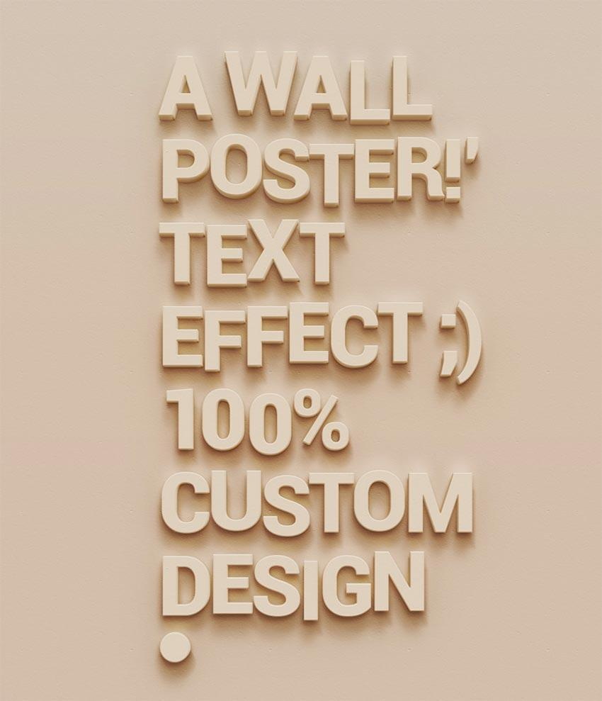 wall_poster_text_effect