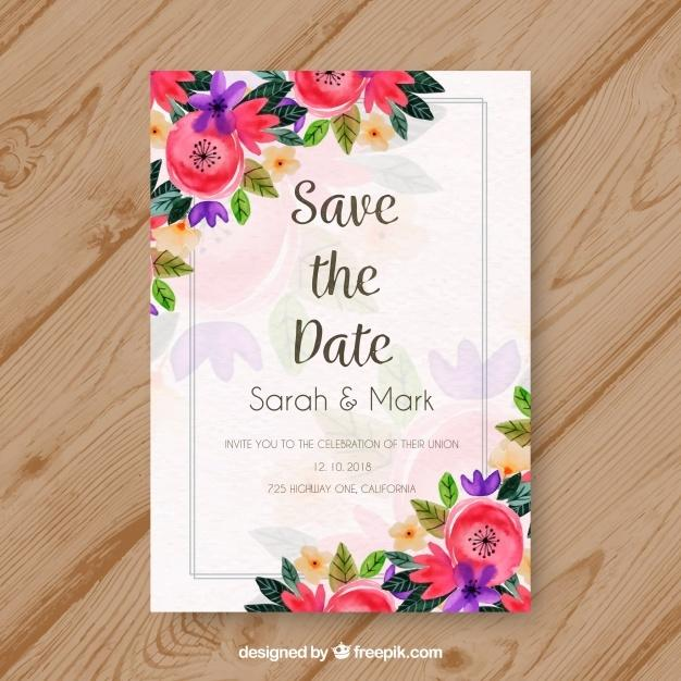 watercolor_wedding_invitation_with_colorful_flowers