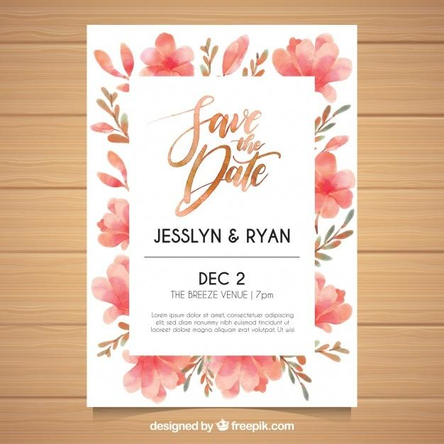 watercolor_wedding_invitation_with_floral_style