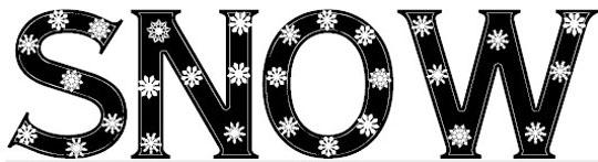 snowflake_letters