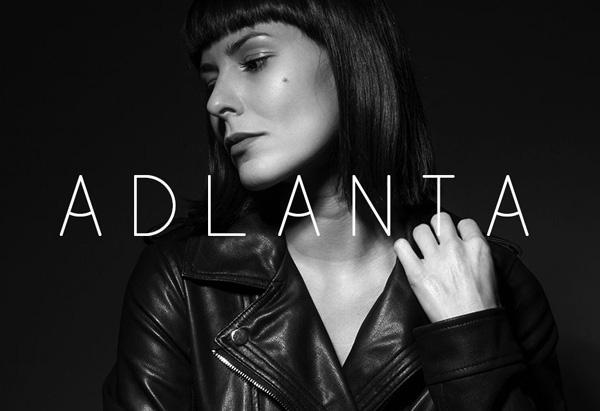 adlanta_minimalist_font