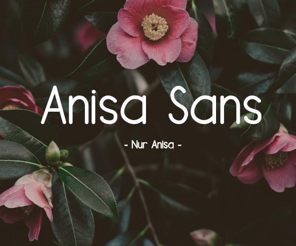 anisa_sans_minimalist_font
