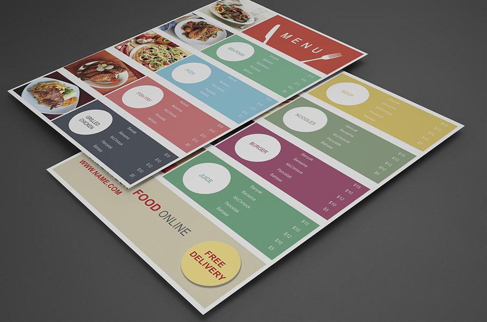food_court_menu_template